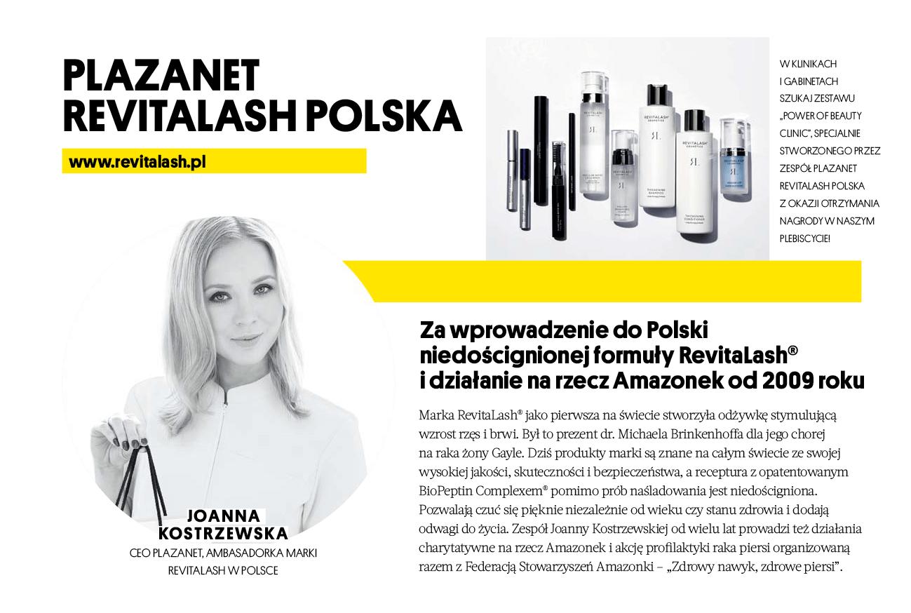 Magazyn Party Power of Beauty nagroda dla Joanny Kostrzewskiej